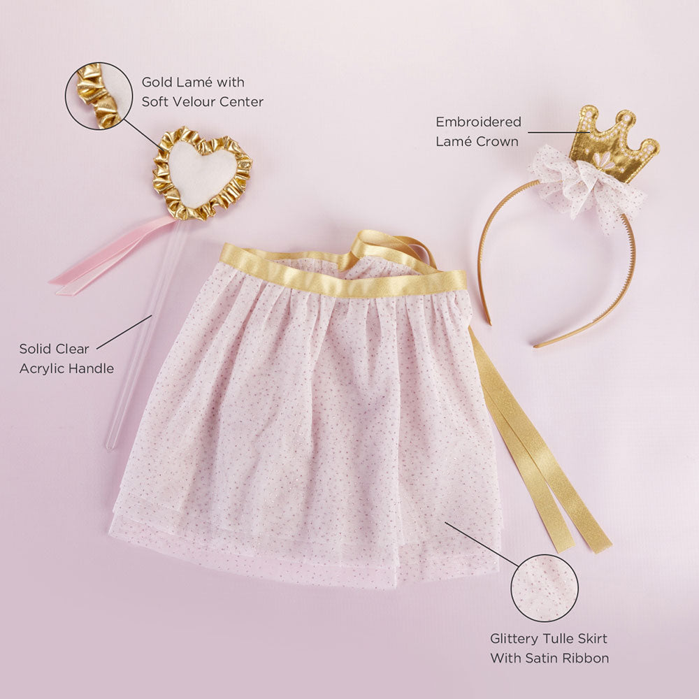 Load image into Gallery viewer, Princess 3-Piece Dress Up Set