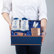 Load image into Gallery viewer, Navy & Copper Will You Be My Groomsman Kit Gift Box
