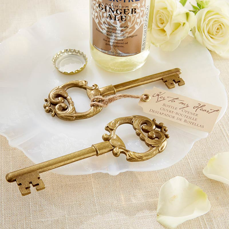 Load image into Gallery viewer, Key to My Heart Antique Bottle Opener