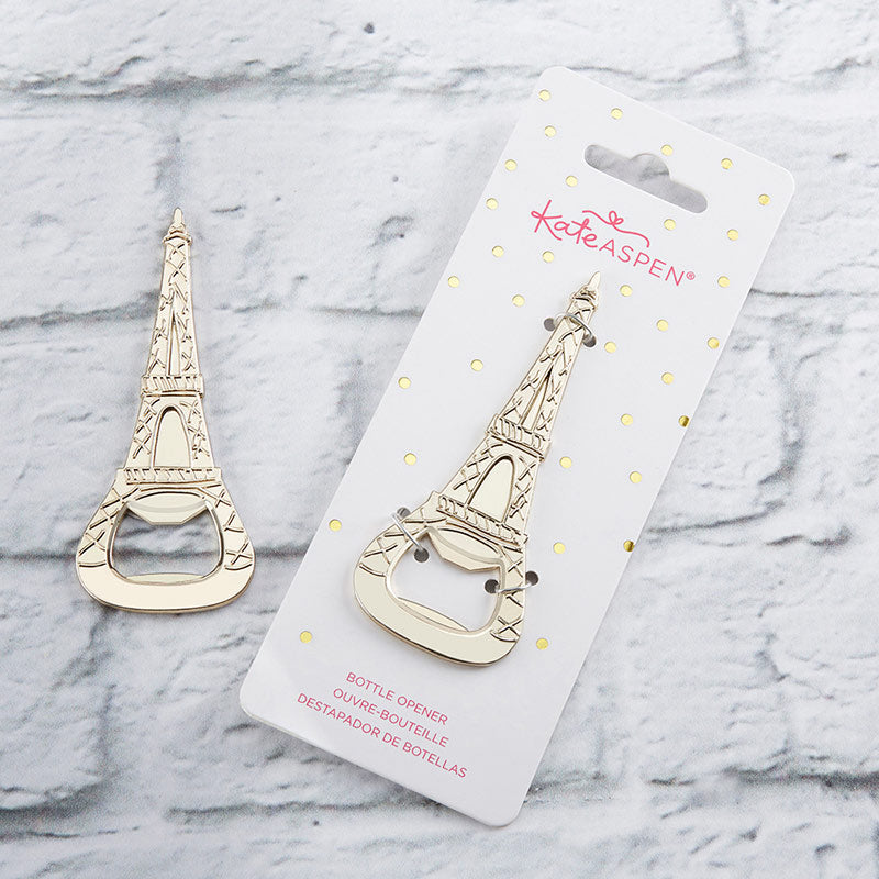 Gold Eiffel Tower Bottle Opener