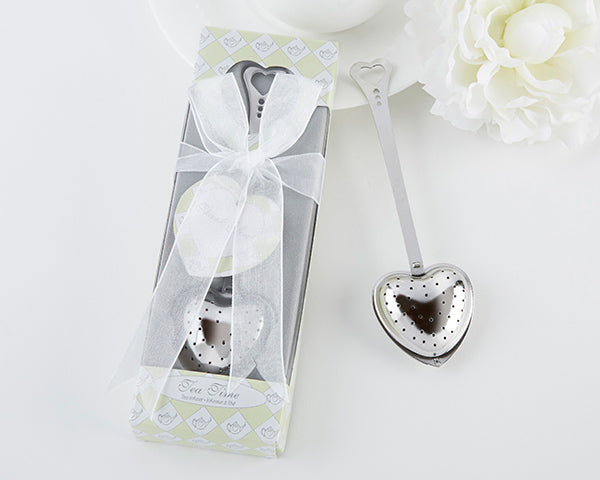 "Heart Shaped ""Tea Time"" Tea Infuser in Gift Box"