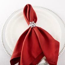 Load image into Gallery viewer, Sparkling Snowflake Napkin Ring