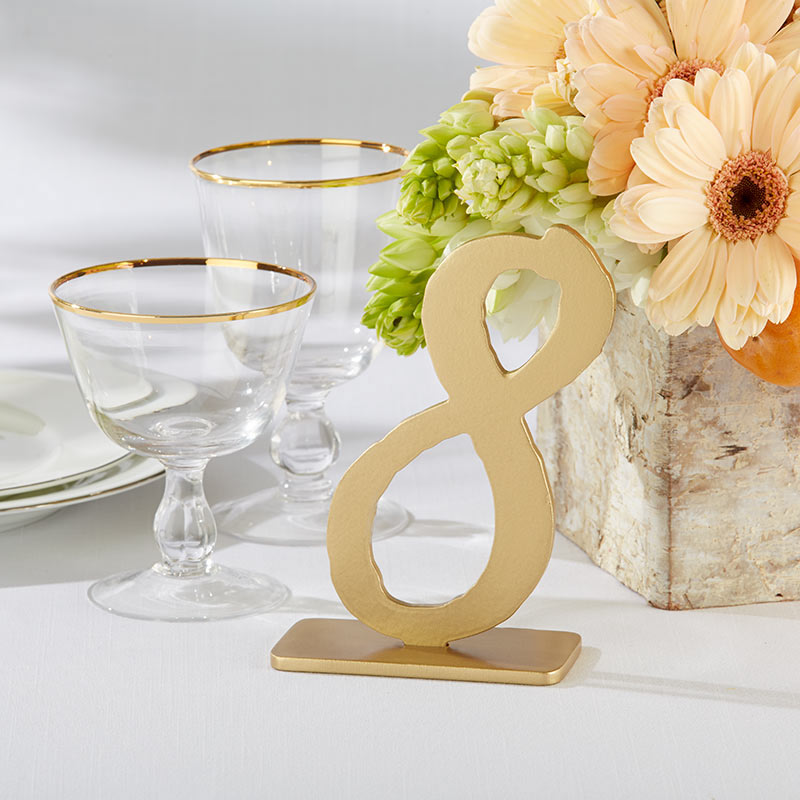 Good As Gold Classic Table Numbers (7-12)