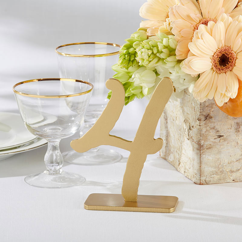 Good As Gold Classic Table Numbers (1-6)