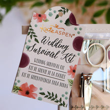Load image into Gallery viewer, Floral Wedding Survival Kit