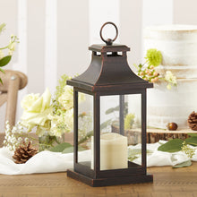 Load image into Gallery viewer, LED Vintage Decorative Copper Lantern - Hampton