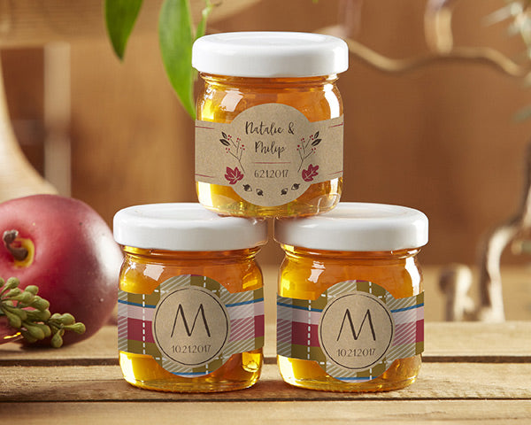 Personalized Clover Honey - Fall (Set of 12)
