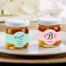 Load image into Gallery viewer, Personalized 1.75 oz. Clover Honey - Wedding (Set of 12)