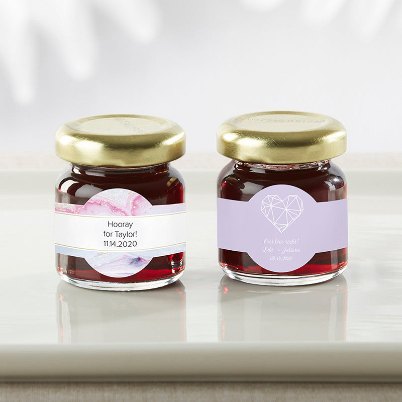 Personalized Strawberry Jam - Elements (Set of 12)