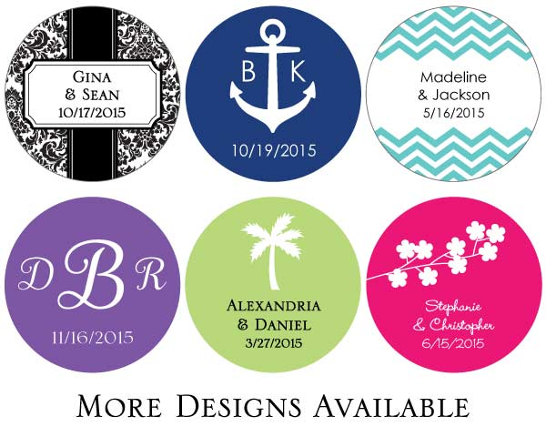 Round Stickers (Set of 48)