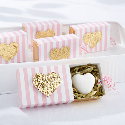40 Heart Measuring Spoon Sets Wedding Bridal Baby Shower Birthday Party Favors
