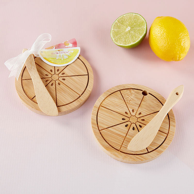 Citrus Cheeseboard & Spreader