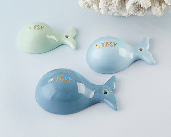Load image into Gallery viewer, Whale Shaped Ceramic Measuring Spoons