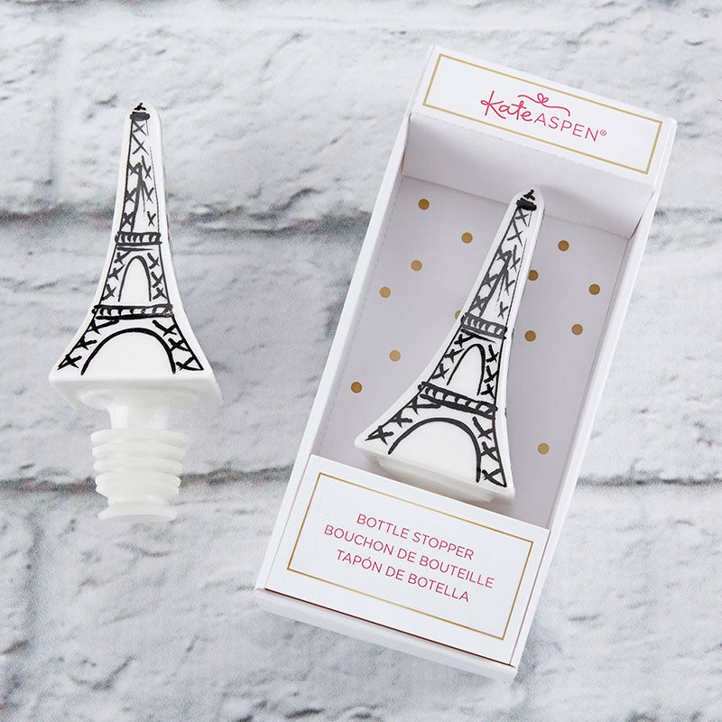 Eiffel Tower Ceramic Bottle Stopper