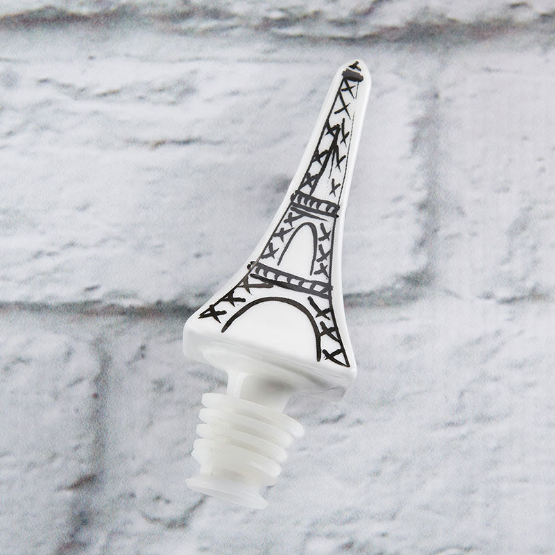 Load image into Gallery viewer, Eiffel Tower Ceramic Bottle Stopper