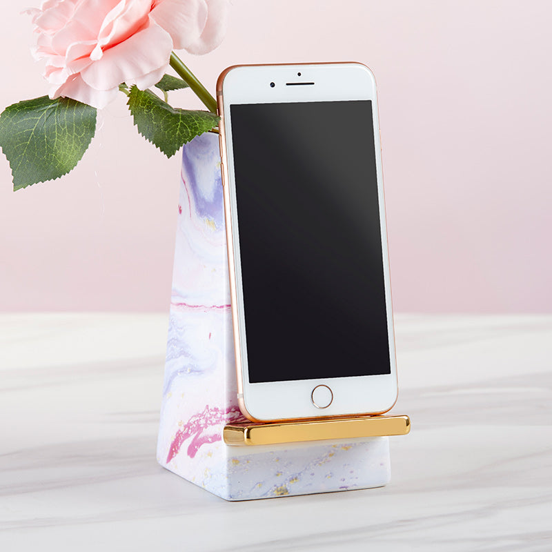 Marble Ceramic Phone Stand