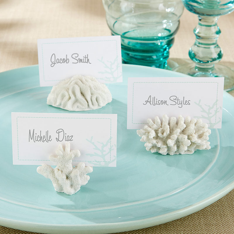 Seven Seas Coral Place Card/Photo Holder (Set of 6)
