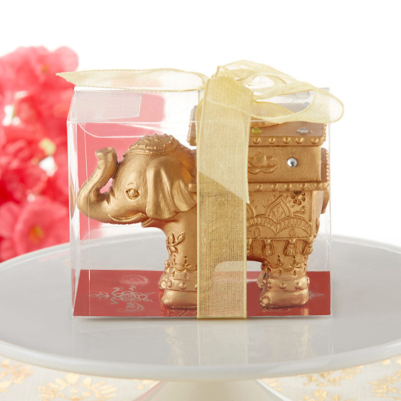 Load image into Gallery viewer, Lucky Golden Elephant Trinket Box