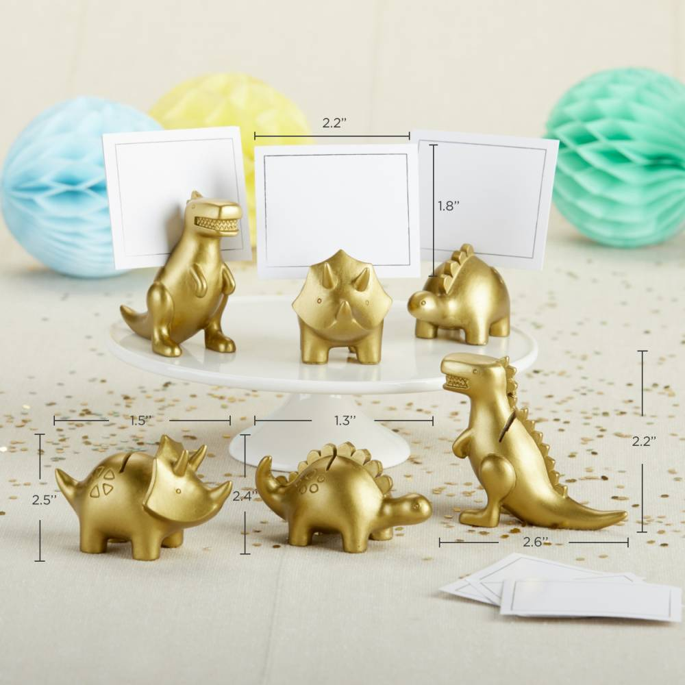 Dinosaur Place Card Holder (Set of 6)
