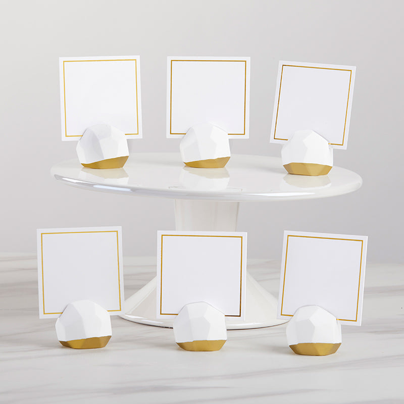 Geometric Place Card Holder (Set of 6)