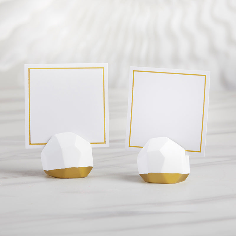 Load image into Gallery viewer, Geometric Place Card Holder (Set of 6)