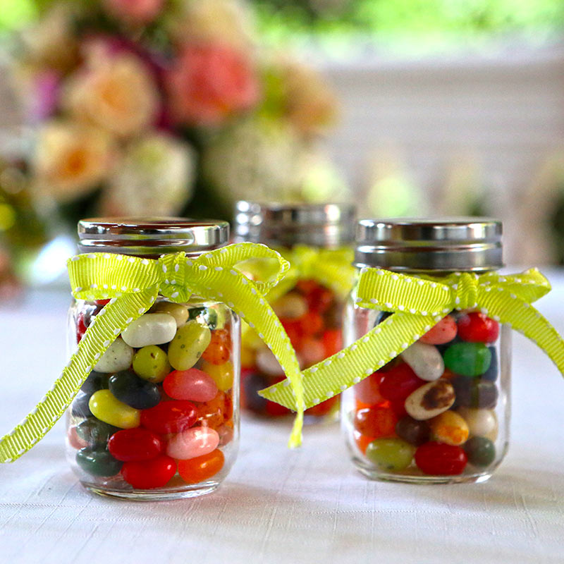 Mini Glass Mason Jar - Baby (Set of 12) (Available Personalized)