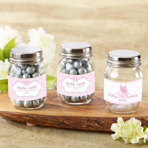 Personalized Mini Mason Jar - Tutu Cute (Set of 12)