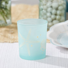 Load image into Gallery viewer, Beach Party Frosted Glass Votive (Set of 4)