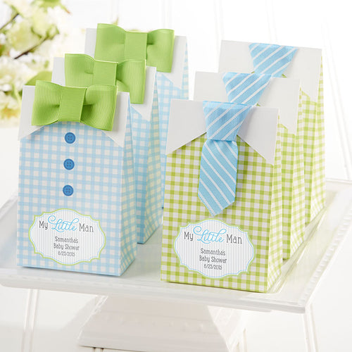 My Little Man Candy Bags - Assorted (Set of 24) (Available Personalized)