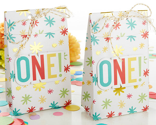 Load image into Gallery viewer, 1st Birthday Tall Treat Box (Set of 24)