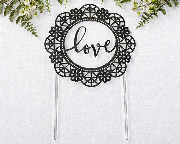 Love Lasercut Cake Topper