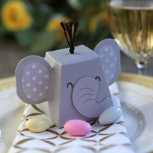 Load image into Gallery viewer, Elephant Favor Box (Set of 12)