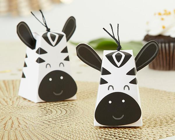 Zebra Favor Box (Set of 12)