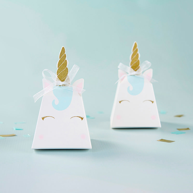 Unicorn Favor Box (Set of 12)
