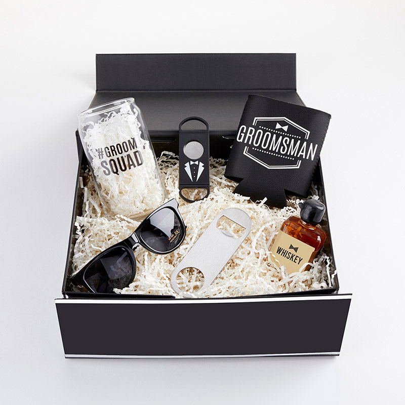 Thank You For Being My Groomsman Kit Gift Box