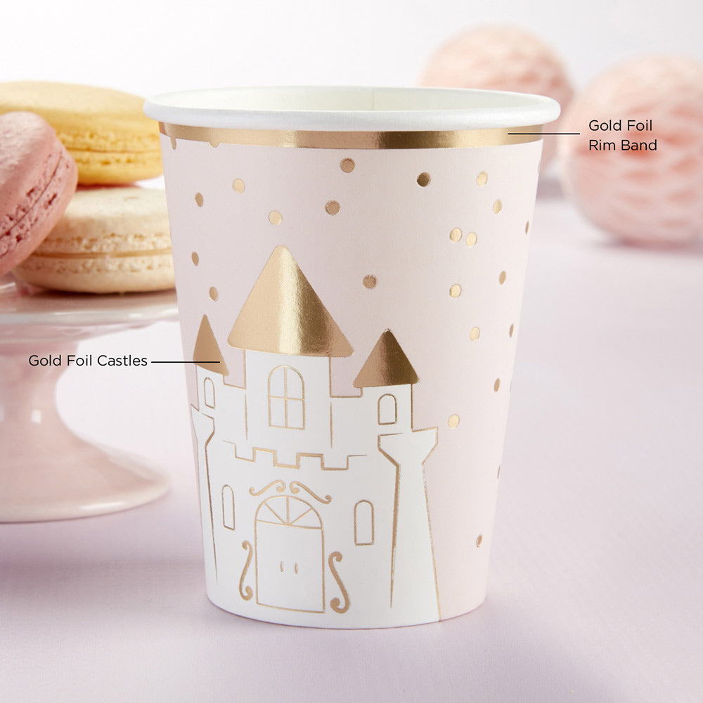 Princess 8 oz. Paper Cups (Set of 8)