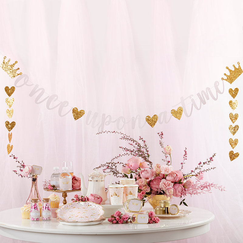 Princess Party Banner (Set of 2)