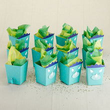 Load image into Gallery viewer, Dinosaur Popcorn Favor Box (Set of 12)