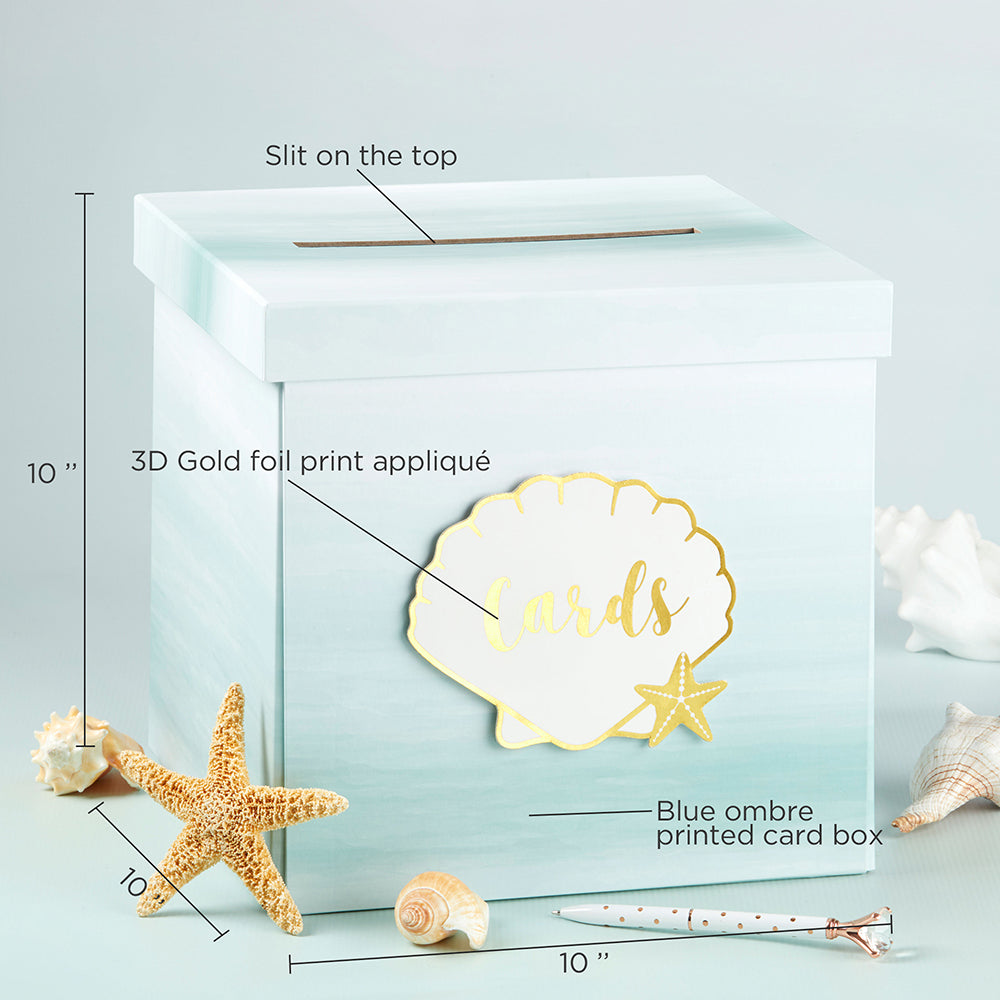 Beach Tides Card Box