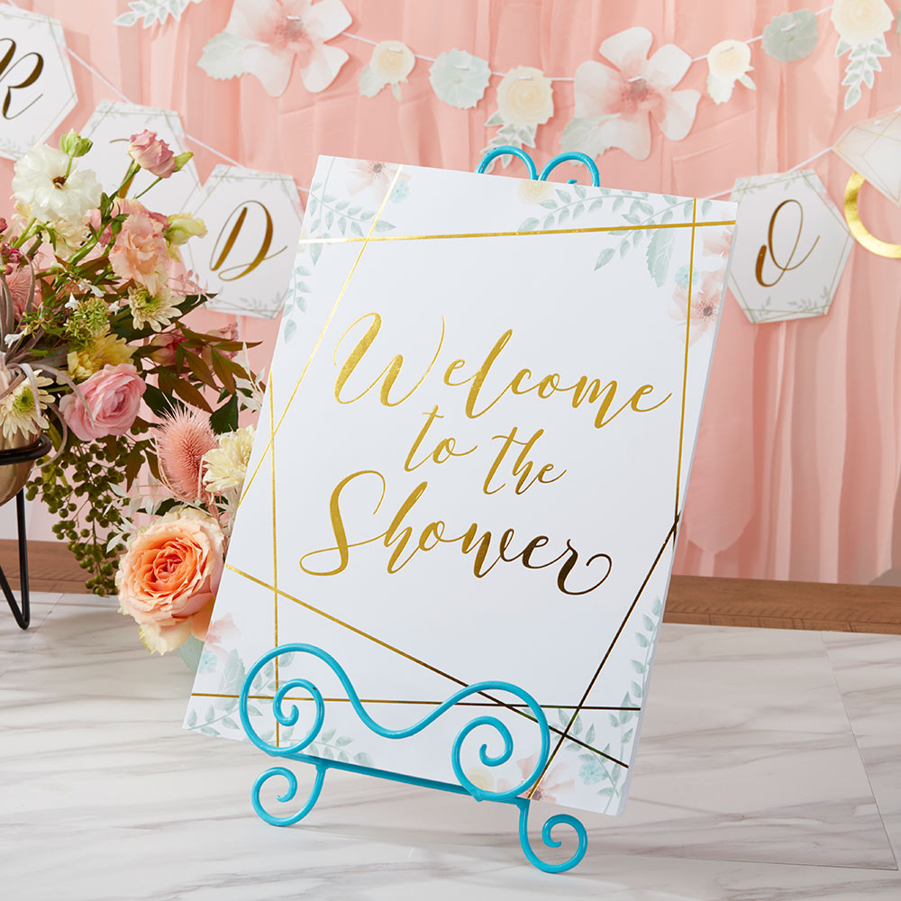 Geometric Floral Bridal Shower Kit