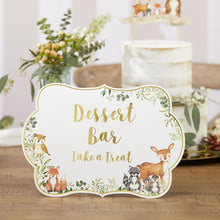 Load image into Gallery viewer, Woodland Baby Décor Sign Kit (Set of 8)