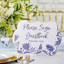 Load image into Gallery viewer, Blue Willow Décor Sign Kit (Set of 8)
