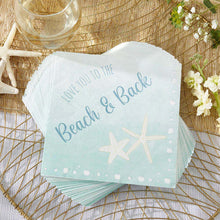 Load image into Gallery viewer, Beach Party 2 Ply Paper Napkins (Set of 30)
