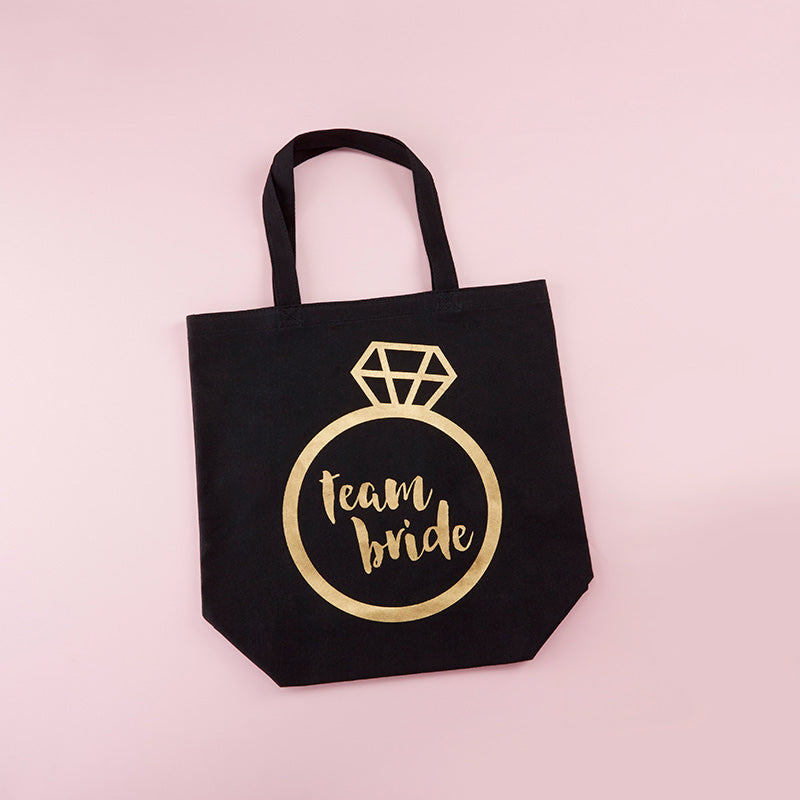 Team Bride Canvas Tote (Personalization Available)