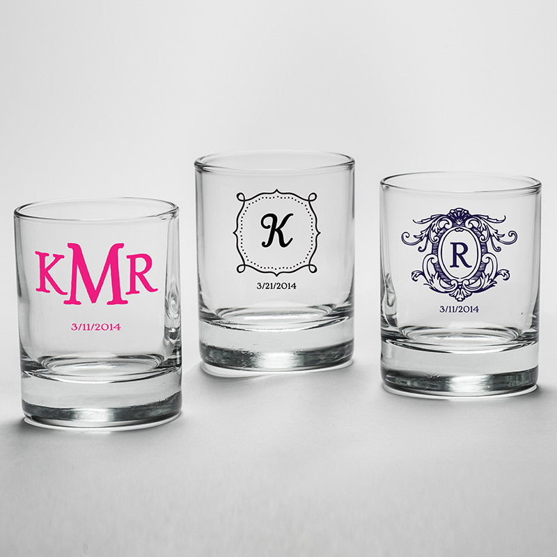 Load image into Gallery viewer, Personalized 2 oz. Shot Glass/Votive Holder - Baby Shower