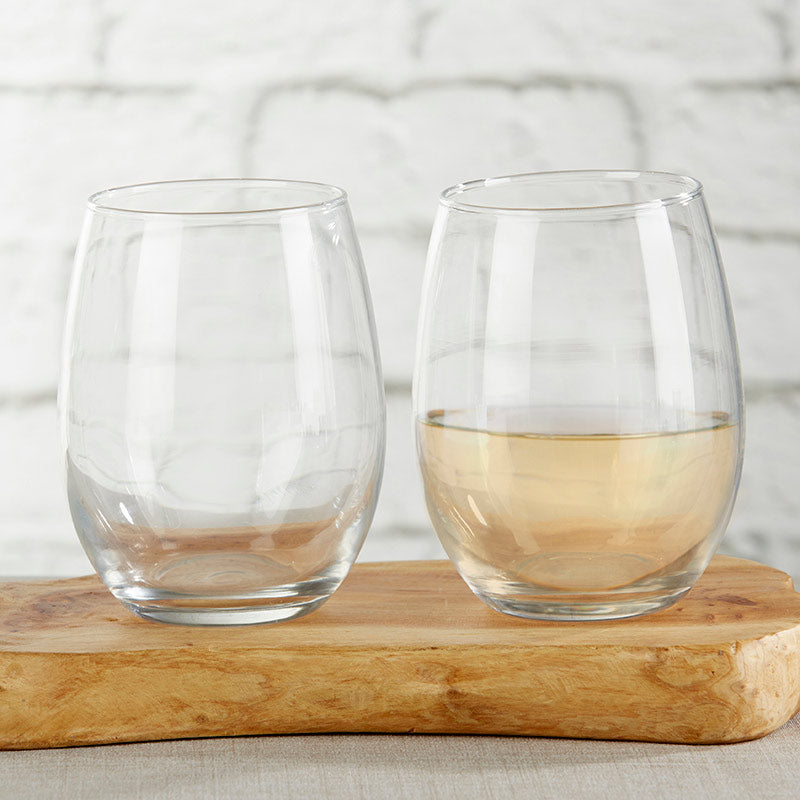 9 oz. Stemless Wine Glass - DIY