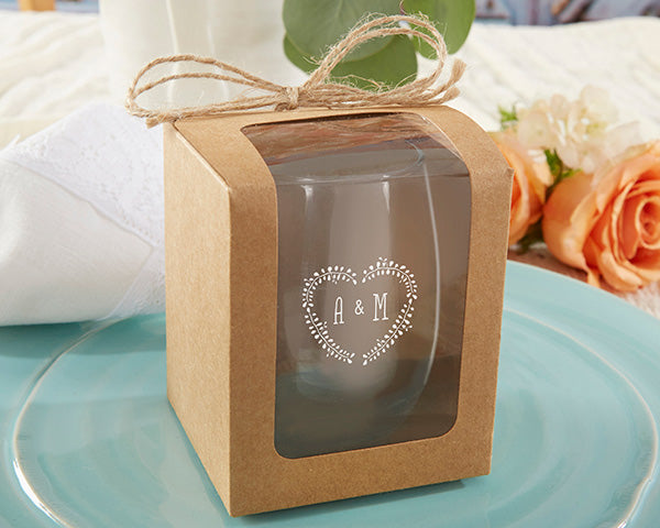 Load image into Gallery viewer, Kraft 9 oz. Glassware Gift Box with Twine (Set of 12)