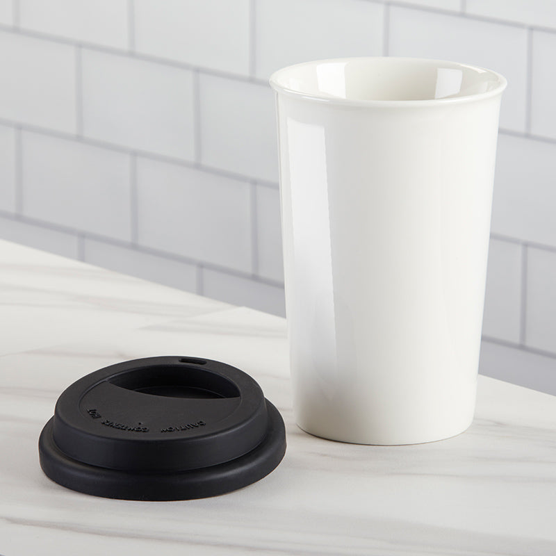 15 oz. Ceramic Travel Mug - DIY