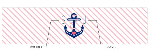 Personalized Water Bottle Labels - Kate's Nautical Bridal Collection