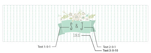 Load image into Gallery viewer, Personalized Water Bottle Labels - Kate's Rustic Wedding Collection